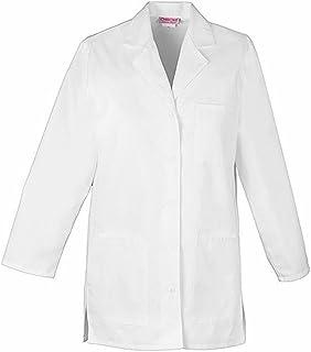 معطف مختبر للنساء من شيروكي 32 انش بحزام خلفي بزر