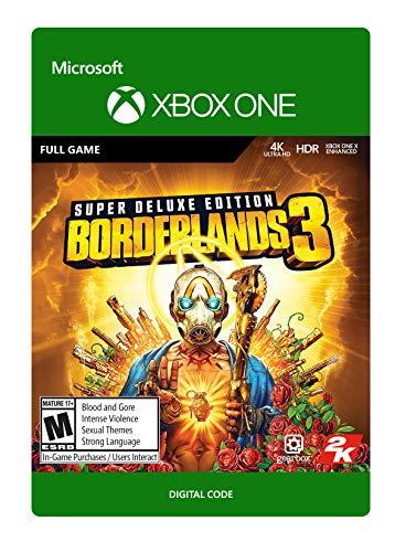 Borderlands 3: Super Deluxe Edition - [Xbox One Digital Code]