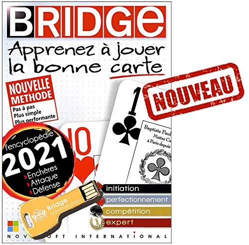 BRIDGE - Expert 2021 sur clé USB OR (Windows XP, 7, 8, 10)