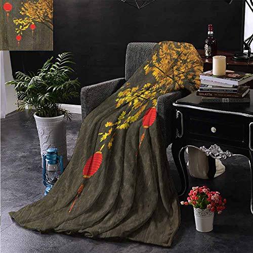 ZSUO Reisdeken Abstract Beeld Afzetten Chinees Nieuwjaar Oud Papier Viering Levendig Kleuren Gooi Lichtgewicht Cozy Pluche Microvezel Effen Deken