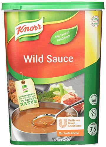 Knorr Wildsauce - braune Sauce mit pikantem Wildgeschmack, 1 kg