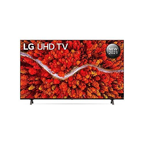 LG 139.7 cm (55 Inches) 4K Ultra HD Smart LED TV 55UP8000PTZ (Black) (2021 Model)