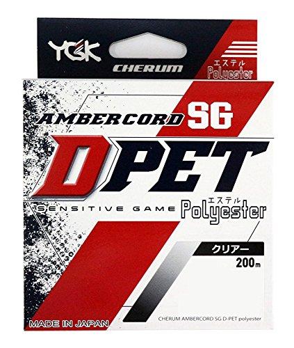 よつあみ(YGK) エステルライン チェルム アンバーコード SG D-PET 200m