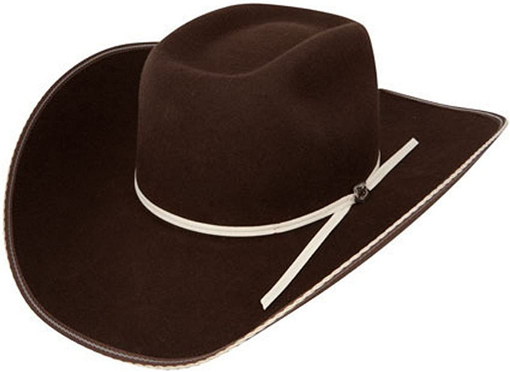 RESISTOL Men's 4X Tuff Hedeman Snake Hat Eyes Cordov Felt Cowboy At the price Limited Special Price