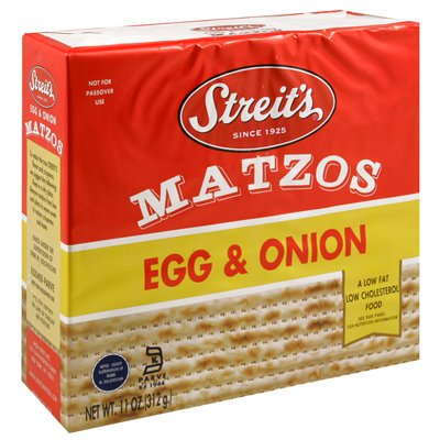 Streits Matzo Egg Max 66% OFF Onion 11-ounce 6 Pack Boxes of Indefinitely