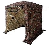 Goutime Tentes instantanées,2x2m Imperméable Barnum Pliant de Camping,Multifonction Tentes D'ActivitéS,Camouflage