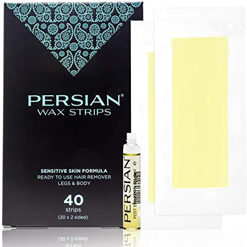 Persian Wax Strips, 40 Count