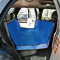 車用ペットシート ドライブシート 犬 猫 後部座席 135×135cm 汚れに強い 防水 取付簡単 折りたたみ式 収納便利 清潔 水洗い 車内 全車種 全種犬猫適応 カーシート 車のシート ペット用品 ブルー
