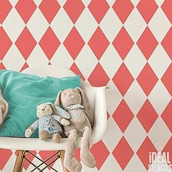Wand Streichen Muster Ideen Babyzimmer Graue 14