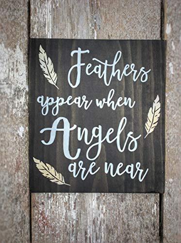 cwb2jcwb2jcwb2j veren verschijnen wanneer engelen in de buurt van het gedenkteken zijn in liefdevolle herinnering huwelijksteken Sympathie Gift Miskraam Gift Infant Loss Gifts 11