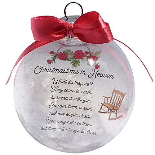 YOUNGE Christmas In Heaven Chair Ornament Commemorative Christmas Decoration