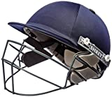 Shrey Sh101009 Match Cricket Helmet with Mild Steel Visor, Medium (Navy Blue)