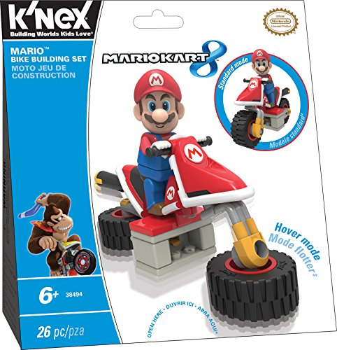K'NEX Mario Kart 8 - Mario Bike Building Set