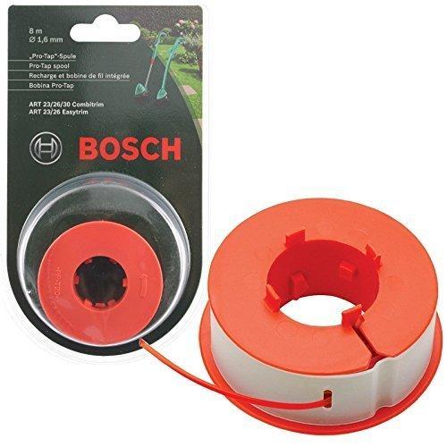 Bosch Original Kunst 23 26 30 COMBITRIM EASYTRIM Motorsense/Gras Trimmer Pro-Tap Automatisch Spule Schnur (8m, F016800175)