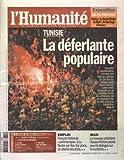 HUMANITE (L') [No 21139] du 29/03/2013 - FRANCOIS HOLLANDE - PLOMBE PAR SES RENONCEMENTS PATRONAT - LAURENCE PARISOT LICENCIEE HIER PAR LES AUTRES PATRONS DU MEDEF SPORTS - LE RUGBY ASPIRE PAR LA POLEMIQUE SUR LE DOPAGE CONFRONTATION - ANI FAIRE LE CHOIX DU MEDEF OU CELUI DE L EMPLOI L ENTRETIEN - HABIB KAZDAGHLI HISTOIRE - MARS AVRIL 1963 - LES MINEURS EN GREVE FONT PLIER LE GENERAL DE GAULLE