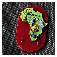 冷蔵庫用マグネット アフリカビッグファイブアニマル冷蔵庫磁石フックツーリストマグネットリサードパンダマグネットステッカーフクロウケッチェン家の装飾 (Color : Big five hook)