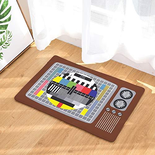 NOVELOVE Flannel Pad Retro-Kamera Digitaldruckpolster Küche Saugung Anti-schleuderpad-türmatte Matte 40 * 60CM L-16
