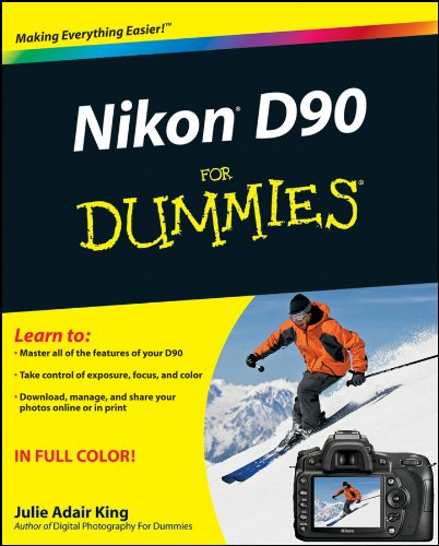 Nikon D90 For Dummies (English Edition)