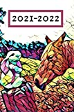 Cute Rabbit and Yellow Horse Colorful County 25 Month Weekly Planer Dated Calendar 2 years plus December: To-Do Lists,Tasks, Notes or ... : 25 months Weekly Planner Horse Riding)