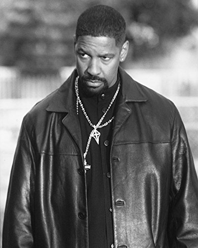 Erthstore 8x10 inch Photograph of Denzel Washington Training Day Movie Poster Tough Pose