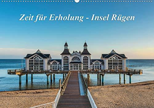 Zeit für Erholung - Insel Rügen/Geburtstagskalender (Wandkalender 2021 DIN A2 quer)