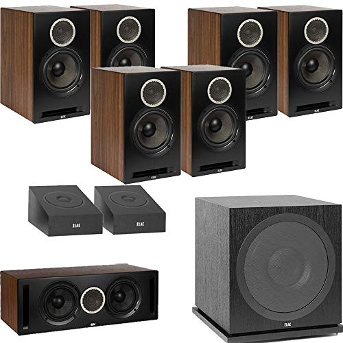 Find Bargain ELAC Debut Reference DB62 9.1 Channel Bookshelf Dolby Atmos Surround Sound Home Theater...