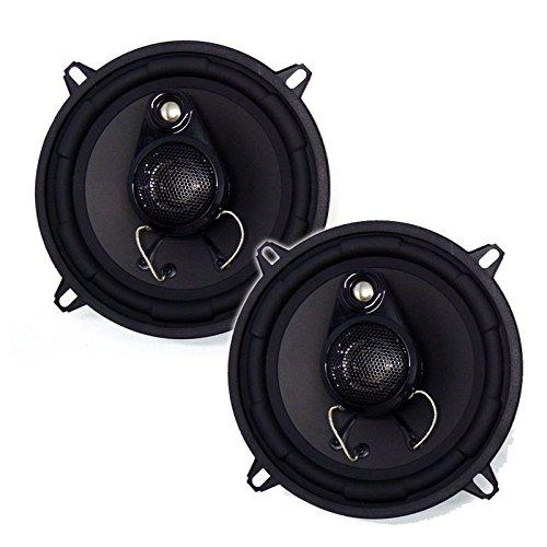 Inphase Lautsprecher SXT1335 13cm 460W inkl Einbauset für Ford Fiesta MK3/MK4/MK5 03/1989-11/2001 Türen vorne