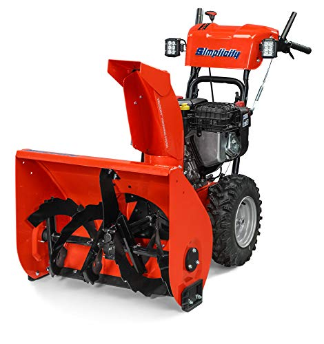 """Simplicity Dual Stage Signature Snow Thrower. 24"""" 14.5HP HD. Model 1696920"""