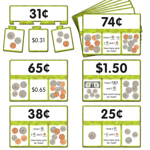 EAI Education Snap Math - Money Puzzle: Grades 1-2