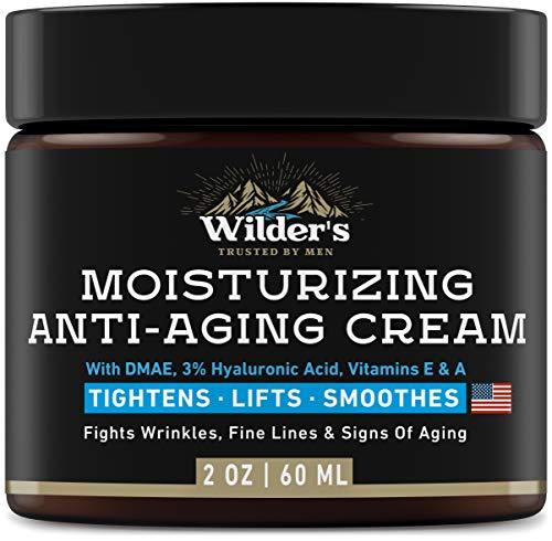 Men's Anti Aging Face Cream - Premium Skin Care Moisturizer with Retinol & Hyaluronic Acid - Made in USA - Fast Anti-Age Effect Day & Night - 2 Oz