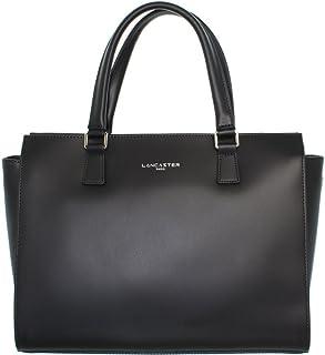 05646aecec Lancaster sac a main cuir de vachette constance 31 cm noir femme