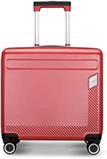 """XLHJFDI Trolley Case,Travel Bags Super Lightweight Hard Shell Travel Carry On Cabin Hand Luggage Suitcase with 4 Wheels, Ultralight Business Trolley Case,PC,16"""" 18"""" Inches"""