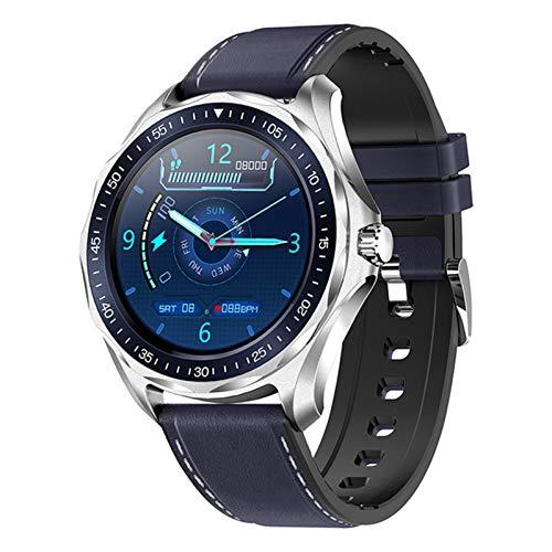 ZWW Fitness Tracker Uhr S09 Smart Uhr Herzfrequenz Blutdruckmessgerät Wetter Smart Watch Mode IP68 Wasserdicht,D