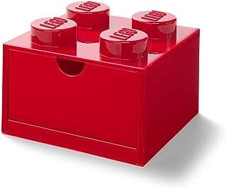 LEGO Boîte de Rangement Empilable avec 4 Boutons