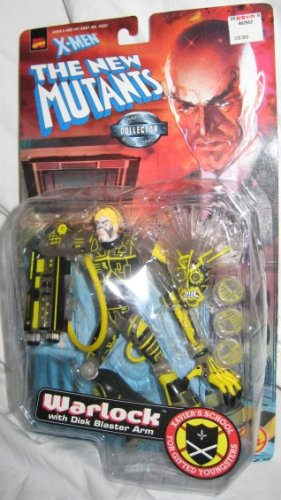 X Men Warlock w/ Disk Blaster Arm The New Mutants Marvel Collector Edition Action Figure