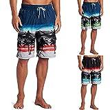 Nuevo 2021 Pantalones Corto Hombre verano Moda Pop Pantalones de playa Casual Hawai impresión Suelto Bañador Original Chándal de hombres Jogging Suelto Pants trend Deportivos Cortos Pantalones