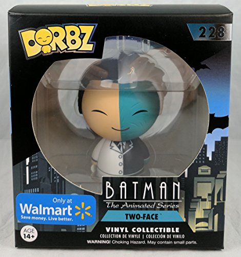 Dorbz Funko Batman The Animated Series Two-Face Exclusive Vinyl Figure