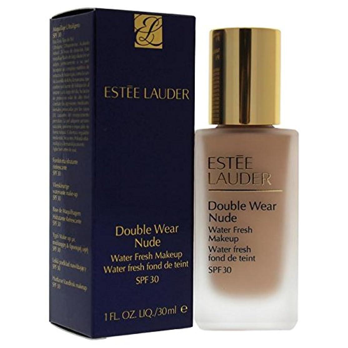 ヤギ恥ずかしさ不機嫌そうなエスティローダー Double Wear Nude Water Fresh Makeup SPF 30 - # 3C2 Pebble 30ml/1oz並行輸入品