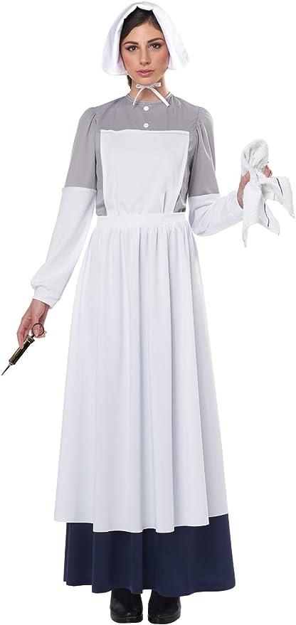 1900s, 1910s, WW1, Titanic Costumes California Costumes womens War Nurse Adult Costume  AT vintagedancer.com