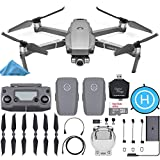 DJI Mavic 2 Zoom Drone Quadcopter with 2 Batteries + SanDisk 32GB Card + Landing Pad + Starter Bundle