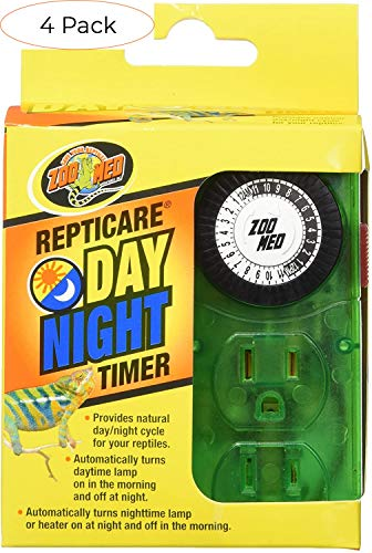 Zoo Med Laboratories SZMLT10 Repti Day Night Timer (Four Расk)