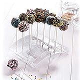 Westmark Cake Pop-Butler, Ständer für bis zu 20 Cake Pops, 22 x 16 x 6 cm, Kunststoff,...