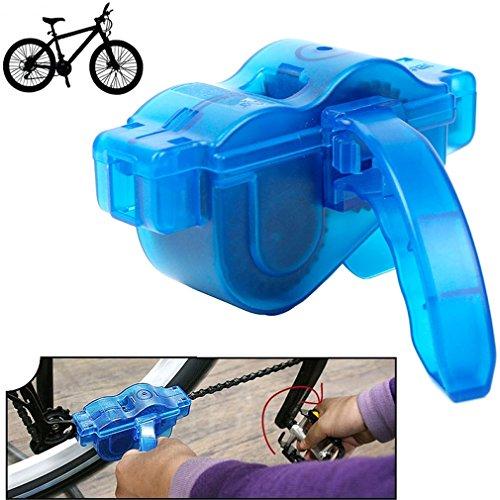 SMARDY Limpiador de Cadena de Bicicleta/Limpiador de Cadena para Todas Las Clases de Cadenas de Bici, Piñones Libres y Platos, Incluidas Las de Velocidad Única y de Velocidad Múltiple