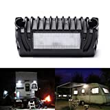 MICTUNING RV Exterior LED Porch Utility Light - 12V 750 Lumen Awning Lights | Replacement Lighting for RVs Trailers Campers