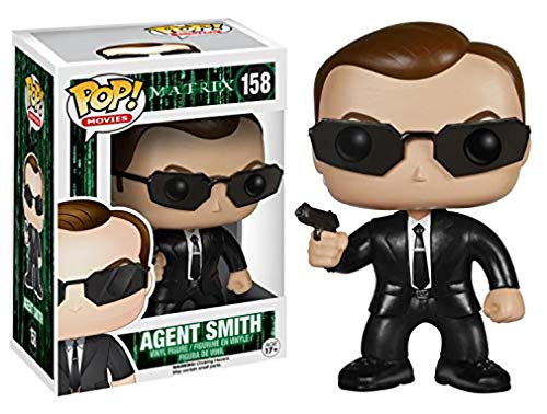 Funko The Matrix Agent Smith Pop Vinyl Figure