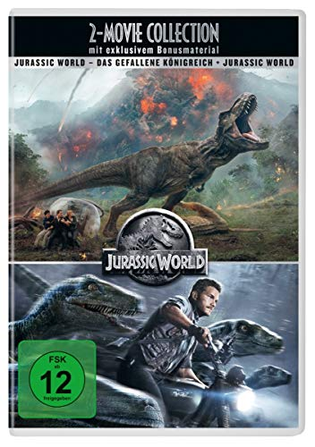 Jurassic World 2-Movie Collection [4 DVDs]