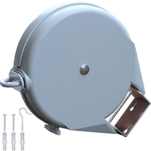 Naroa Retractable Washing Line | Clothes Line Heavy Duty Outdoor Wall Mounted Extendable Retracting...