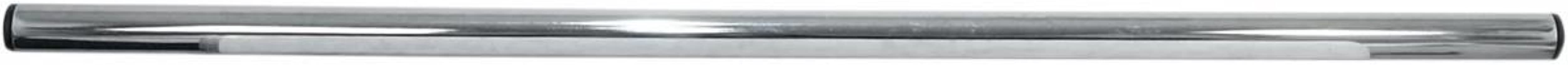 Emgo 1in. Street Broomstick Handlebar - Chrome , Color: Chrome, Handle Bar Size: 1in. 07-12567