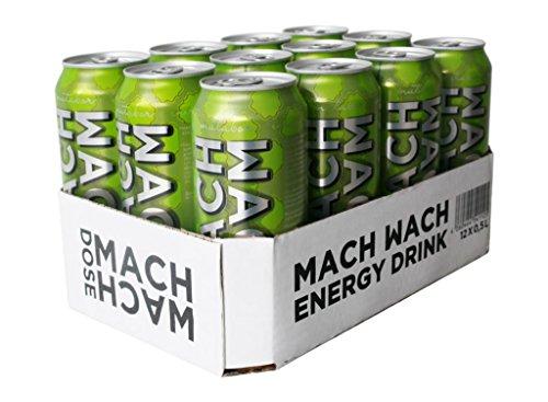 MACH WACH DOSE (Einfach Apfel) 12x 500 ml (Inkl. 3 Euro Pfand)