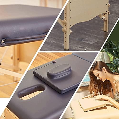 Xin Yan Table De Massage Lit Pliante 2-Section Professionnel Portable Cosmetique Lit De Massage...